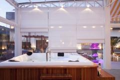 Spa, spa com deck, spa para 11 lugares com instalação é na bella telha 11-4555-5444 lj especializada em churrasqueiras, lareiras, banheiras, spas, ofuros