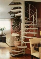 Escada caracol, escada em l, u, j escada pré-fabricada bella telha 11-4555-5444