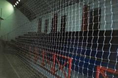 Rede de proteção para lateral e fundo