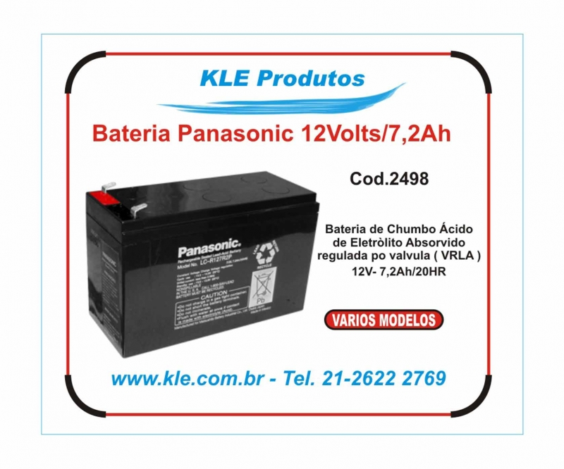 Bateria Panasonic 12 Volts