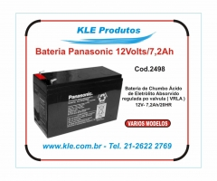 Bateria panasonic 12 volts