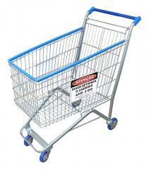 Carrinho de compras supermercado 160l