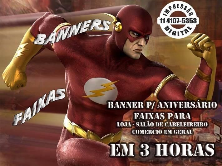 Banner em 3 Horas 11 4107-5353 Pirituba