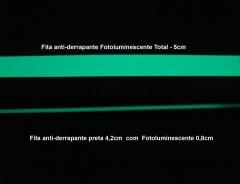 Fita fotoluminescente - falta de luz