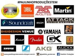 Paulinho produções tem as melhores marcas. isso é ter qualidade & tecnologia.