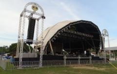 Paulinho produçõs tem palco geo space em santarém/pa.