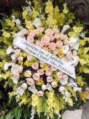 CondolÊncias , coroa de flores praia clube sÃo francisco