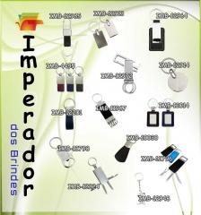 Chaveiros diversos (Metal, couro, feramenta etc.)