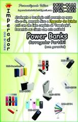 NOVIDADE !!!  POWER BANKS
