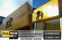 Acesse: http://www.photoplacas.com.br/ tel: 12-3308-5733 12 98852-8740  photo placas comunicação visual , trabalhamos com projeto, fabricação e instalação de revestimento em acm, interno e externo paredes , fachadas,