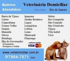 Bairros atendidos - dra. michelle gandra, veterinária domiciliar no rio de janeiro - tel 97964-7871 (whatsap)