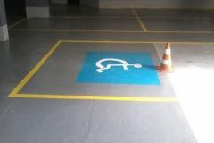 Demarcacao de seguranca pne,estacionamentos ciadoepoxi.com