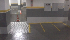 demarcacao de garagens,estacionamentos,vagas ciadoepoxi.com