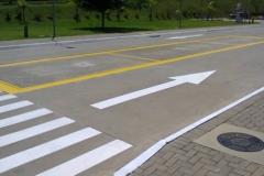 Demarcação de pista e estacionamento, vagas ciadoepoxi.com
