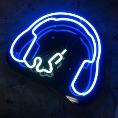 Neon headphone