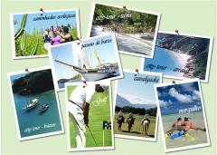 Atividades de turismo, lazer e esporte