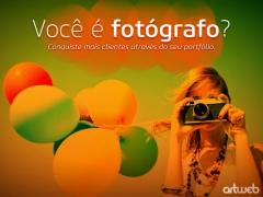 Criação de sites para fotógrafos, estúdios de fotografias e etc.