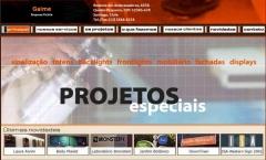 Projeto para empresa de sinalização - desenvolvimento web