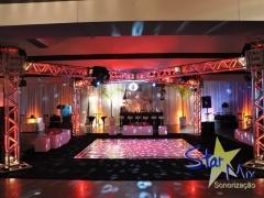Dj som iluminação para festas de casamento 15 anos e coorporativos