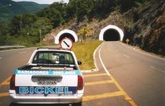 Participamos na construção do tunel rota do sol - rs