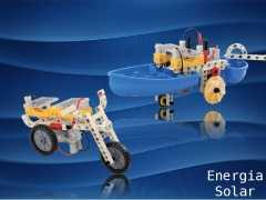 Use energia solar para mover veículos montados por você mesmo! duas células solares transformam toda a energia que você precisa!