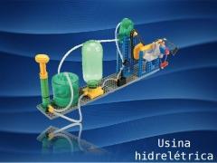 Monte uma usina hidrelétrica que gera energia elétrica a partir da pressão hidropneumática! teoria, prática e diversão em um só brinquedo.