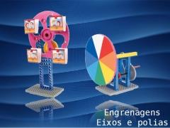 Engrenagens, polias e eixos ensinam os princípios básicos das máquinas mecânicas!