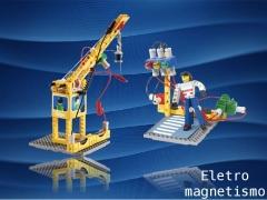 Eletricidade e magnetismo em um kit super criativo e divertido.