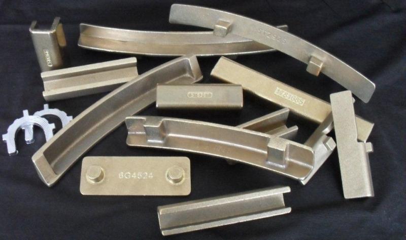 Calços de bronze