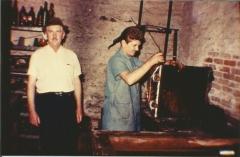 Oswaldo e Vivaldo Bickel em 1975, fundadores da RADIADORES BICKEL