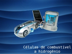 Energia alternativa: veículo a célula de hidrogênio com energia solar! inovação na brincadeira!