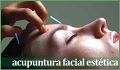 Acupuntura facial estética
