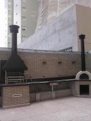 Churrasqueira e forno de pizza ára area comum de predio, churrasqueira para apartamento, projetos de churrasqueiras vc encontra na bella telha www.bellatelha.com.br, 11-4555-5444