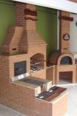 Churrasqueira de alvenaria de tijolo a vista, churrasqueira com fogão a lenha, churrasqueira com forninho, churrasqueira de alvenaria, churrasqueira de tijolinho aparente, na bella telha 11-4555-5444 vc encontra as churrasqueiras a gas, churrasqueira high tech, churrasqueira moderna, churrasqueira eletrica, fornos de pizza, telhados e muito mais