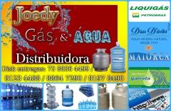 Joedy gás e água distribuidora trabalhamos com preços competitivo e com entrega rápida na zona sul. visite nossa página. joedy gás e água distribuidora em ilhéus.