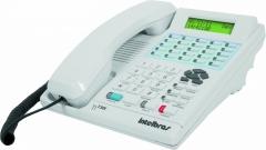 Terminal inteligente intelbras ti 730i - garante mais agilidade, conforto, praticidade e economia no seu dia a dia, com agenda telefônica e lembrete, além da segurança do identificador de chamadas¹.
