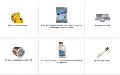 Lazer, piscinas, acessórios e químicos