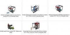 Bombas à combustão - motores a diesel