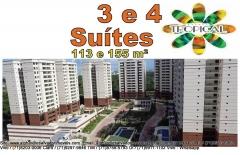 Parque Tropical, Lançamento em Salvador, 3 e 4 quartos e Coberturas.  Apartamentos com 3 suítes, com 113,77 m² e varanda; e apartamentos com 4 suítes, com 155,95 m² e 2 varandas, coberturas nas torres com 4 suítes. Características Gerais -3 suítes, com 113,77 m² e varanda; e 4 suítes, com 155,95 m² e 2 varandas -Cobertura nas torres de 4 suítes. Venha conferir nossa qualidade de prestação de serviços. Obrigado pela oportunidade de servi-lo (a).   Mais detalhes entre em contato com:  Claudio Borges.  +55(71)3494-7843 +55(71)99911-1102 WhatsApp