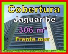 Cobertura, 4 quartos, Frente mar, Jaguaribe, Salvador. Cobertura duplex, 4 quartos, sendo 3 suítes, gabinete excluído dando amplitude á sala, vista para mar definitiva, pronto para morar, 4 vagas e 306 m² de área privativa Caracteristicas do empreendimentoMais detalhes entre em contato com: Claudio Borges. +55(71)3494-7843 +55(71)99970-6866 Vivo +55(71)98203-0006 Claro +55(71)99297-9846 TIM +55(71)98758-5793 Oi +55(71)99911-1102 WhatsApp