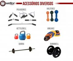 Wettor Fitnesstech Fabricação de Equipamentos para Academias de Ginástica e Musculação - Foto 4