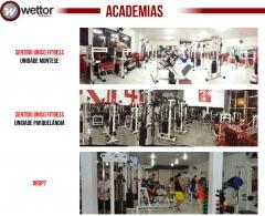 Wettor Fitnesstech Fabricação de Equipamentos para Academias de Ginástica e Musculação - Foto 2