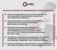 Wettor Fitnesstech Fabricação de Equipamentos para Academias de Ginástica e Musculação - Foto 1