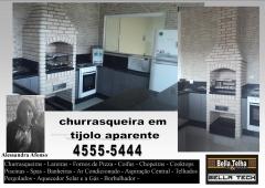 Churrasqueira de alvenaria, churrasqueira de tijolinho a vista, churrasqueira em sp,churrasqueira high tech, churrasqueira e forno de pizza, churrasqueira de alvenaria, churrasqueira com coifa, churrasqueira moderna, churrasqueira de apartamento, na bella telha www.bellatelha.com.br, 11-4555-5444, vc encontra todos os modelos de churrasqueiras para  apartamento, churrasqueira para area de lazer, churrasqueira de predio, fogão a lenha, fogão caipira, forninho a lenha, grill elevação, grill, acessórios para churrasqueira,  churrasqueira de tijolinho, churrasqueira sem fumaça, churrasqueira a gas, churrasqueira eletrica, churrasqueira de embutir, chopeira, projetos de churrasqueiras, lareiras; lareira eletrica, lareira ecologica, lareira a gás com pedras vulcanicas,  telhados, deck, pergolado, banheiras, piscina, saunas, spa, ofurÔ, pressurizador, aquecedor. este projeto é da arquiteta alessandra afonso  em parceria com a bella telha
