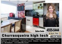 Churrasqueira high tech, churrasqueira com coifa embutida, churrasqueira com coifa, churrasqueira e forno de pizza, churrasqueira de alvenaria, churrasqueira com coifa, churrasqueira moderna, churrasqueira de apartamento, na bella telha www.bellatelha.com.br, 11-4555-5444, vc encontra todos os modelos de churrasqueiras para  apartamento, churrasqueira para area de lazer, churrasqueira de predio, fogão a lenha, fogão caipira, forninho a lenha, grill elevação, grill, acessórios para churrasqueira,  churrasqueira de tijolinho, churrasqueira sem fumaça, churrasqueira a gas, churrasqueira eletrica, churrasqueira de embutir, chopeira, projetos de churrasqueiras, lareiras; lareira eletrica, lareira ecologica, lareira a gás com pedras vulcanicas,  telhados, deck, pergolado, banheiras, piscina, saunas, spa, ofurÔ, pressurizador, aquecedor. este projeto é da arquiteta barbara dundes  em parceria com a bella telha