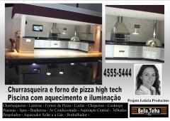 Churrasqueira high tech, churrasqueira e forno de pizza, churrasqueira de alvenaria, churrasqueira com coifa, churrasqueira moderna, churrasqueira de apartamento, na bella telha www.bellatelha.com.br, 11-4555-5444, vc encontra todos os modelos de churrasqueiras para  apartamento, churrasqueira para area de lazer, churrasqueira de predio, fogão a lenha, fogão caipira, forninho a lenha, grill elevação, grill, acessórios para churrasqueira,  churrasqueira de tijolinho, churrasqueira sem fumaça, churrasqueira a gas, churrasqueira eletrica, churrasqueira de embutir, chopeira, projetos de churrasqueiras, lareiras; lareira eletrica, lareira ecologica, lareira a gás com pedras vulcanicas,  telhados, deck, pergolado, banheiras, piscina, saunas, spa, ofurÔ, pressurizador, aquecedor. este projeto é da arquiteta leticia prodocimo  em parceria com a bella telha