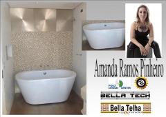 Banheira, banheira projeto, banheira de hidromassagem, hidromassagem, ofuro, spa, bella telha www.bellatelha.com.br 11-4555-5444