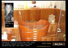 Ofuro de madeira, ofuro infantil, ofuro tradicional, ofuro com deck, pergolado e muito mais � na bella telha www.bellatelha.com.br 11-4555-5444