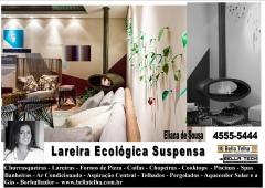 Lareira ecologica, sala com lareira, lareira suspensa, lareira sem fumaça, lareira para apartamento, eco lareira bella telha 11-4555-5444 www.bellatelha.com.br