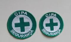 Patch cipa segurança para aplicação em bonés, camisetas e coletes de cipeiros